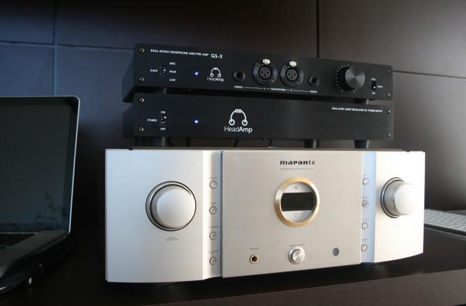 HeadAmp GS-X, AKG K702 Revisitado e HiFiMAN HE500 Balanceado