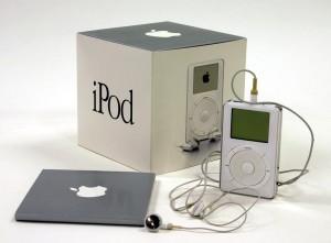 O primeiro iPod