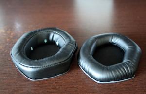 Espumas XL (esquerda) e normais (direita)