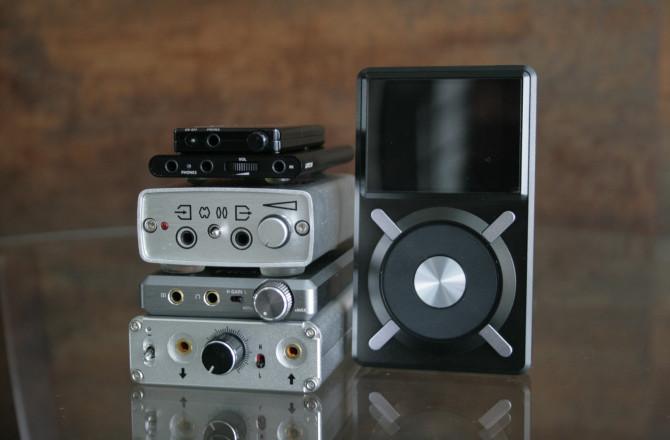 Comparativo de amplificadores portáteis